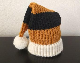 6da0ee01a712b Hufflepuff Hat - Wool knitted adult Santa beanie