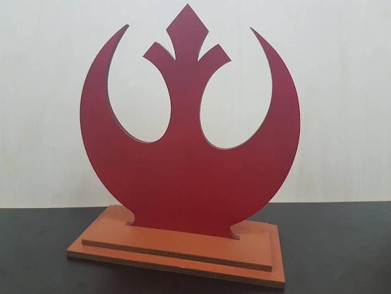 Rebel alliance emblème décoration de bureau star wars cadeau star