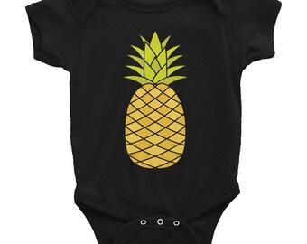 fe6bd568f Pineapple Infant Bodysuit, Baby Onesie, Infant Onesie, Baby Shirt, Baby  Tee, Funny Infant, Boho Baby