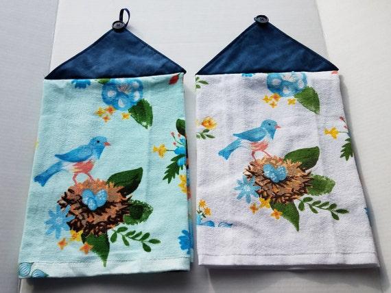 Bird Tea Towel Double Robin