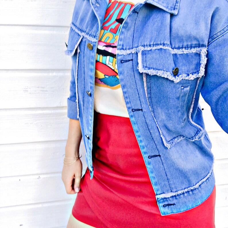 JENNY Light denim jacket