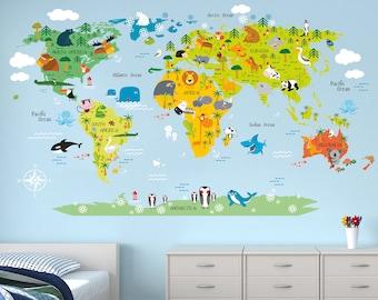 Kids world map | Etsy on world shipping lanes, world most beautiful nature, world travel, world atlas, world hunger, world records, world globe, world of warships, world projection, world history, world border, world statistics, world glode, world wallpaper, world earth, world war, world culture, world wide web, world flag, world military,