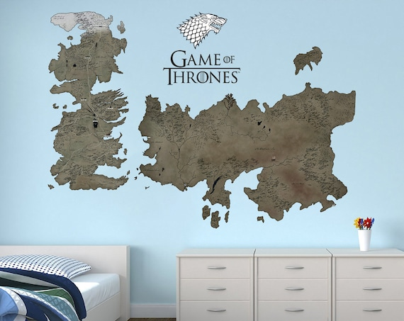 Game Of Thrones Map Wall decal Westeros and Essos Game of Thrones Gift Game Of Thrones Wall Map on game of thrones maps hbo, game of thrones win or die, game of thrones white walkers, game of thrones posters, game of thrones globe, game of thrones winter, game of thrones book, game of thrones diagram, game of thrones pins, game of thrones letter, game of thrones castles, game of thrones magazine, game of thrones review, game of thrones kit, game of thrones garden, game of thrones hardcover, game of thrones table, game of thrones wildlings, game of thrones war, game of thrones maps pdf,