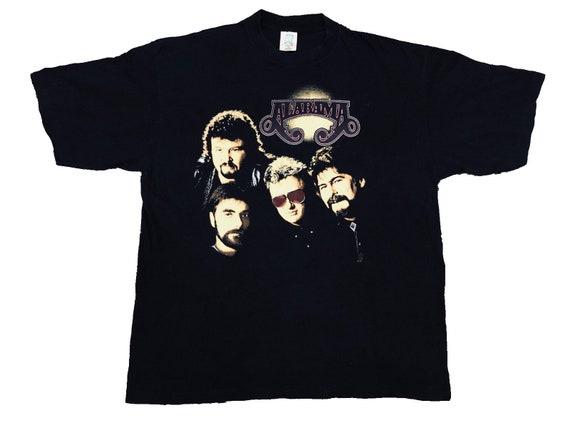 Rare Vintage 90s Alabama Band Tshirts