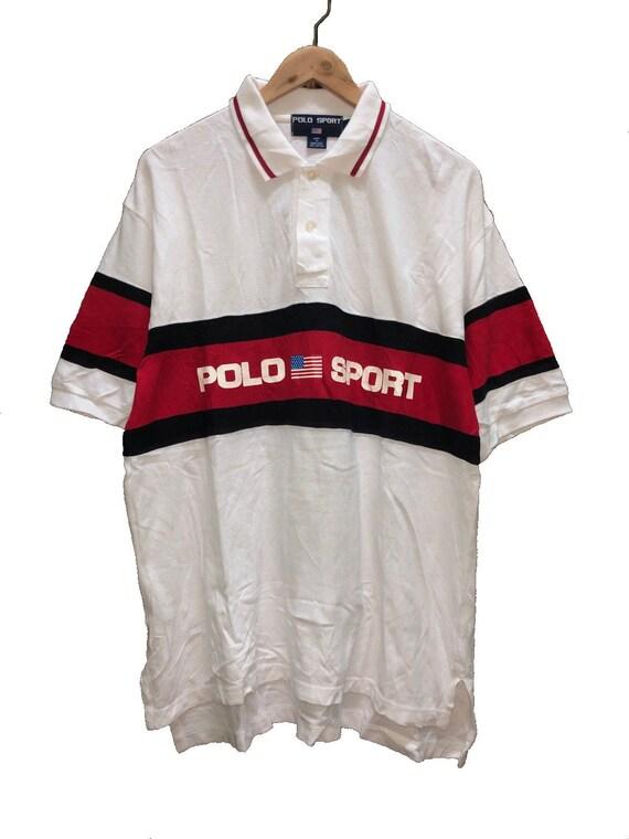 Rare Vintage 90s Polo Sport Polos Tshirts