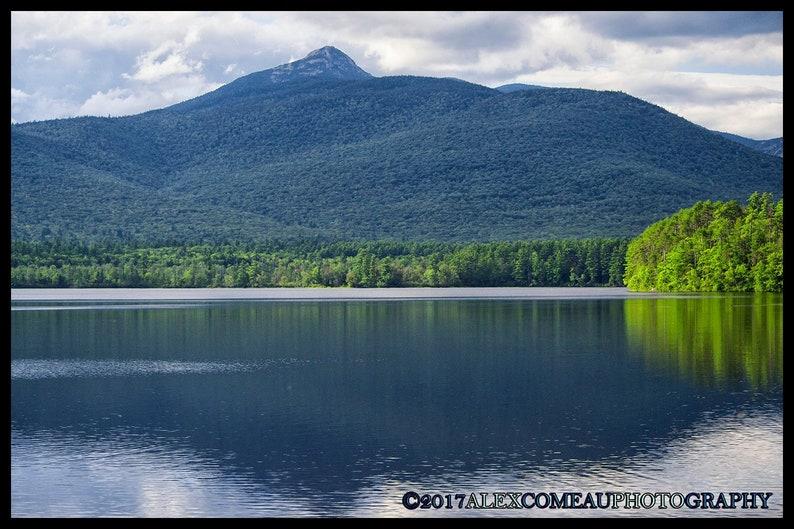 Across Chocorua  Water River Lakes Art New Hampshire image 0