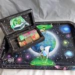 HandPainted Rick and Morty Smoke Kit