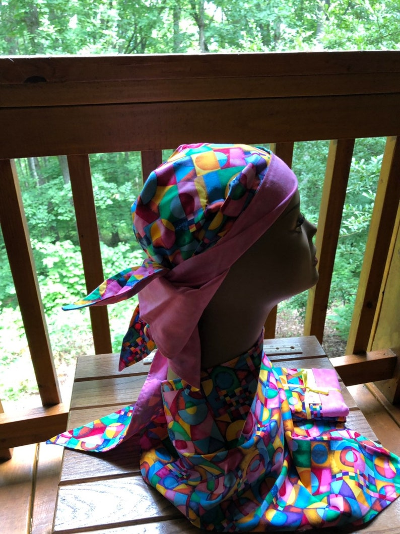 beanie or chemo hat also gorgeous as a scarf works great for nurses and patients alike or for someone with a bad hair day Scull cap