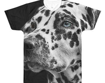 Dalmation Dog Puppy Pet All-Over Printed T-Shirt