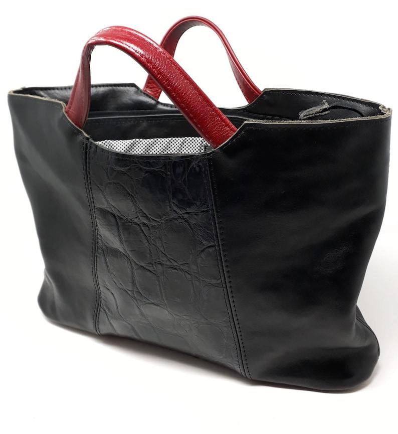 Briefcase work bag black bag laptop briefcase woman bag image 0