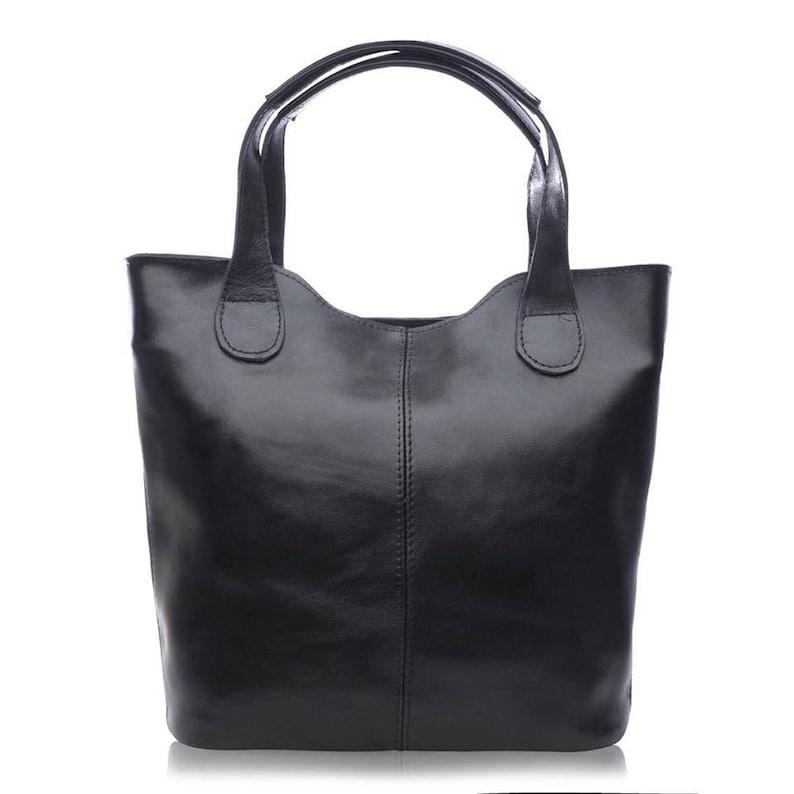 Shoulder bag work bag black bag formal shoulder bag image 0