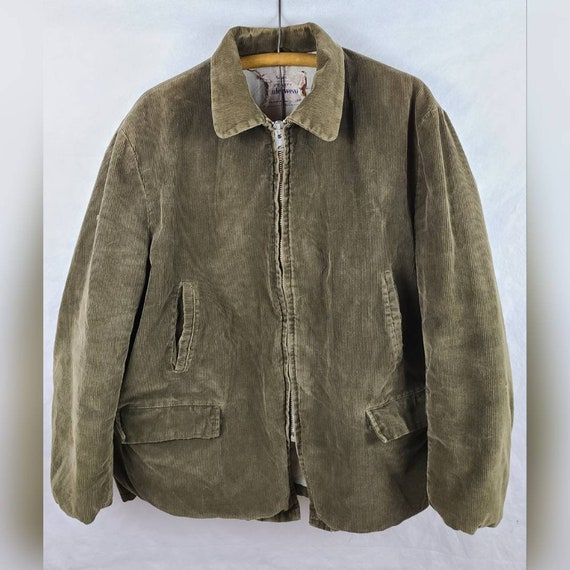1940s to 1950s Sears Utility Work Chore Coat Mens
