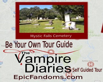 The Vampire Diaries Filming Location Tour & Fan Guide/On Location Tours with epicfandoms.com