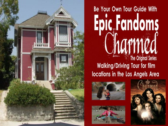 Charmed Walking Driving Tour Travel Guide To Locations From Etsy