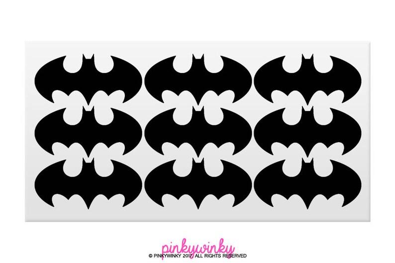 Filme & Dvds Batman Logo Sticker Aufkleber