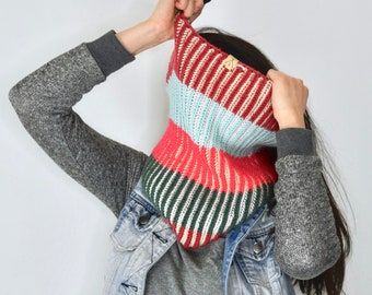 Foulard KOLORETAKO - Patron tricot français
