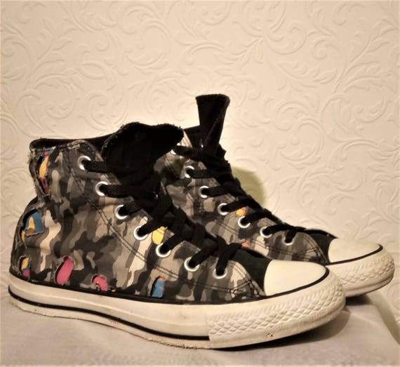 51ceff0dfbb4 Converse Cutaway Camoflague High Top All Star UK Size 5