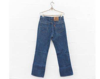Vintage Levis 517 Bootcut Denim Medium Wash