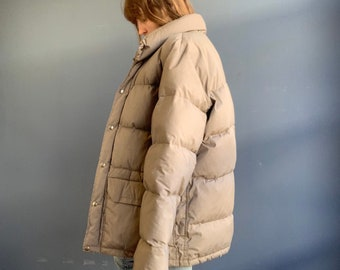 The North Face Gray Puffer Coat