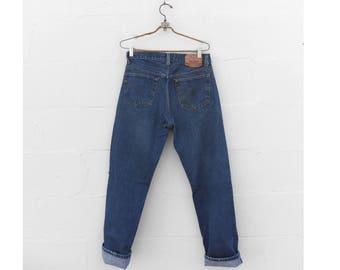 31-33 waist | Levi's 501 High Waist  Button Fly Jeans