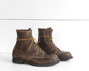 8 E | HY-TEST Steel Toe Work Boots