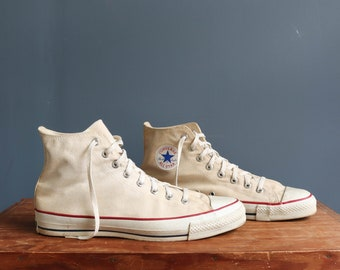 Vintage High Top Converse Chuck Taylor Shoes size 13