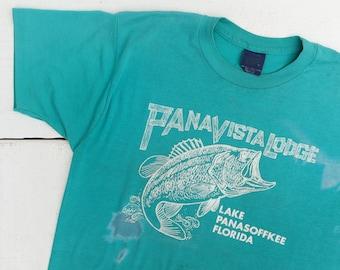 Panavista Lodge Lake Panasoffkee Florida Souvenir T Shirt