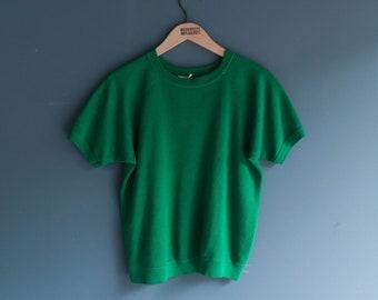 JC Penny Short Sleeve Raglan Blank Sweatshirt