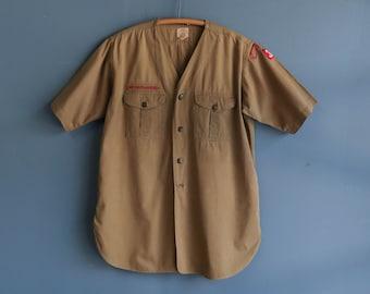 1940's Sweet Orr Boy Scout Shirt