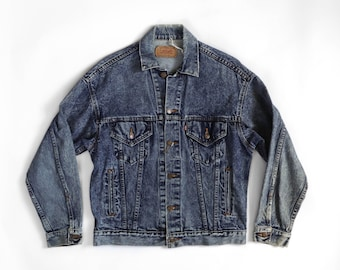 1980's Oversized Levi's Denim Trucker Jacket