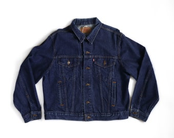1980's 4-Pocket Levis Denim Trucker Jacket
