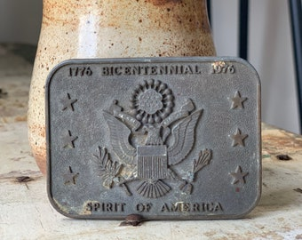 Vintage Bicentennial Spirit of America Belt Buckle