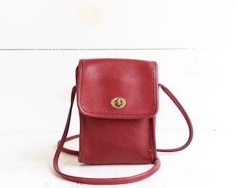 COACH 9893 Scooter Shoulder Bag Red