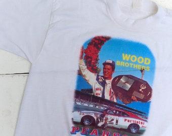 1970s Vintage Wood Brothers Purolator Pearson Racing T Shirt