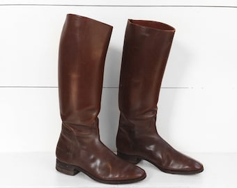 Vintage Nettleton Riding Boots Dated 1920 size 9.5 D