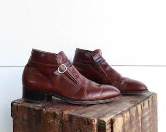 f8351f07dc6bf Monk strap boot | Etsy