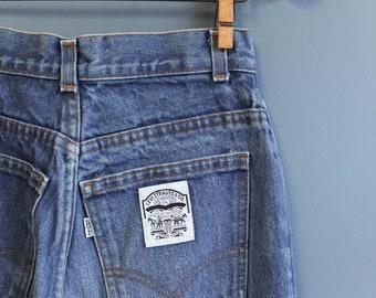 Levi's High Waist California Straight Denim Jeans