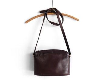 Vintage Coach Anderson Bag 9976 Dark Brown Leather Bag