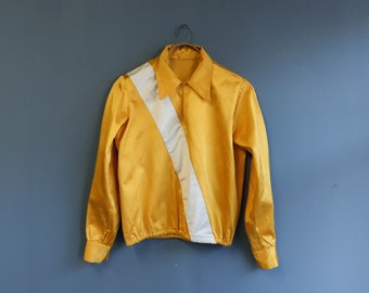Vintage Marching Band Top by Uniforms by Ostwald in Yellow and White
