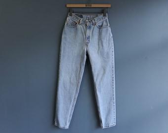 Levis 512 High Waist Jeans in Light Wash