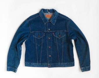 Levis 1970s Medium Wash Denim Jacket