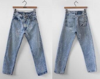 1980's Nicely Worn High Waist Levi's Denim Jeans