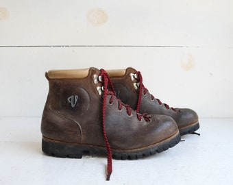 Vintage Vasque Boots All Leather Hiking Boots
