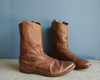 Vintage Red Wing Pecos Boots Men's Size 16
