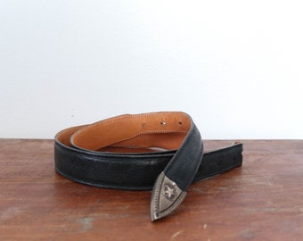 Max Lang Leather Belt Strap