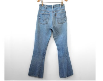 1970s Levis Orange Tab Big E | Vintage 70s Big E Levis Orange Tab | Vintage 1970s Denim Jeans | Vintage 1970s Levis Jeans Orange Tab Big E
