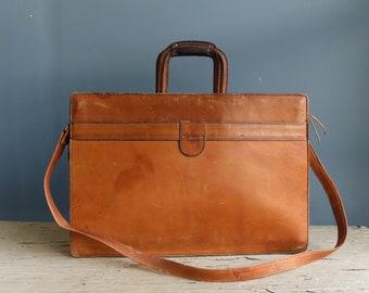 Vintage Leather Hartmann Bag | Vintage Leather Hartmann Luggage | Vintage Leather Attache Case | Vintage Leather Messenger Bag | Laptop Bag