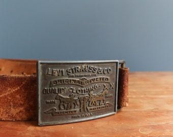 Vintage Levi's Belt & Buckle