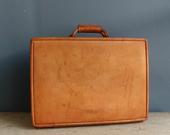 Vintage Hartmann Leather Briefcase Luggage Suitcase