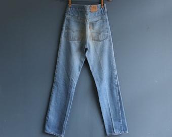 Levi's Orange Tab High Waist Denim Jeans